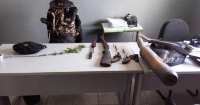Polícia Militar prende grupo envolvido em assaltos e tráfico de drogas em Cruz do Espírito Santo