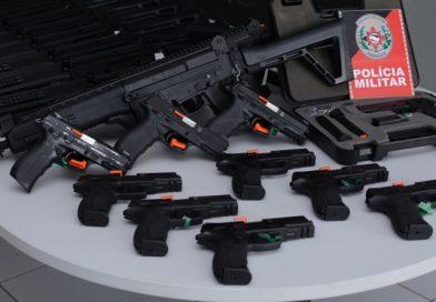 Polícia Militar distribui armamento e equipamentos de proteção na Paraíba