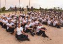 Classificados no concurso da Polícia Militar concluem período de adaptação e são recebidos por familiares