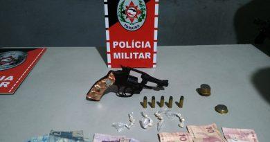 Polícia Militar prende suspeito de tráfico de drogas em Ingá-PB