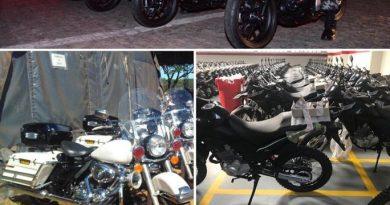 Comandante-geral usa redes sociais para anunciar que Batalhão Especializado em Policiamento de Motocicletas está em construção