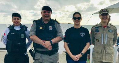 Comandante-geral da Polícia Militar prestigia evento das Delegacias de Atendimento à Mulher em João Pessoa