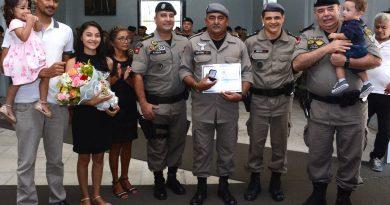 Presença das famílias no comando-geral marca solenidade de posse de oficiais em novas funções
