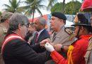 Comandante-geral participa de aniversário de 102 anos do Corpo de Bombeiros Militar e é homenageado na solenidade