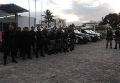 Polícia Militar apreende duas armas de fogo e dois suspeitos em Santa Rita