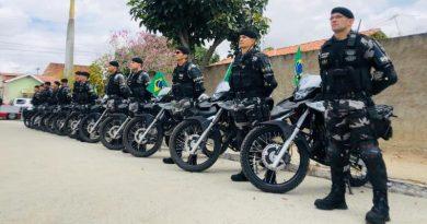 Em Campina Grande: Governo instala 2ª Companhia do BEPMotos e entrega equipamentos