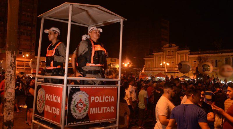 Polícia Militar garante a tranquilidade nos eventos de abertura das prévias carnavalescas em João Pessoa