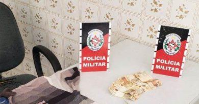 Polícia Militar prende suspeito de assaltar depósito de bebidas no Sertão da Paraíba