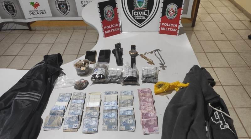 Polícia Militar intercepta dupla suspeita de praticar assaltos em cidades do Sertão