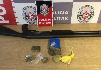 Polícia Militar prende suspeita de porte ilegal de arma e tráfico de drogas em João Pessoa