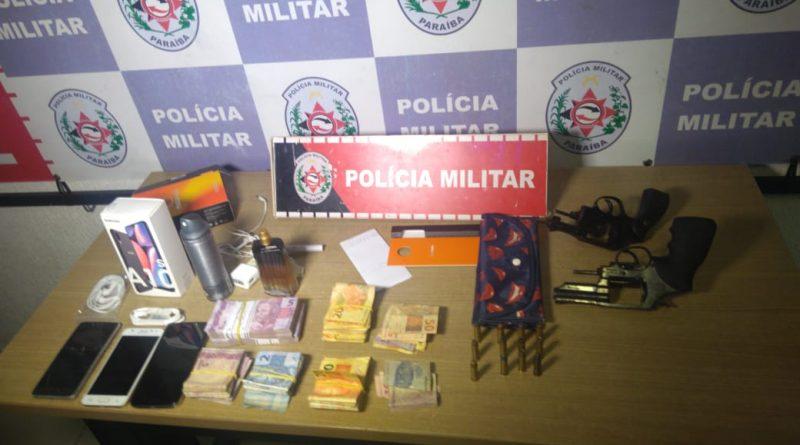 OPERAÇÃO CIDADE SEGURA: Polícia Militar frustra assalto e prende dois suspeitos em bairro da capital