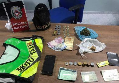 Polícia Militar intercepta 'delivery' de drogas e prende dois suspeitos em Campina Grande