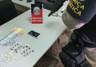 Suspeito de tráfico é detido pela 3ª vez com drogas na cidade de Itabaiana