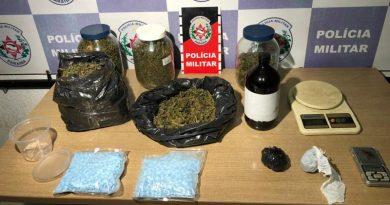 Polícia Militar apreende drogas sintéticas e maconha em apartamento da zona sul de João Pessoa