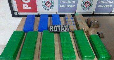 Polícia Militar intercepta entrega de quase 12 kg de drogas em comunidade de João Pessoa