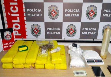 Polícia Militar apreende mais de 16 kg de drogas em ação de combate ao tráfico na zona sul de João Pessoa
