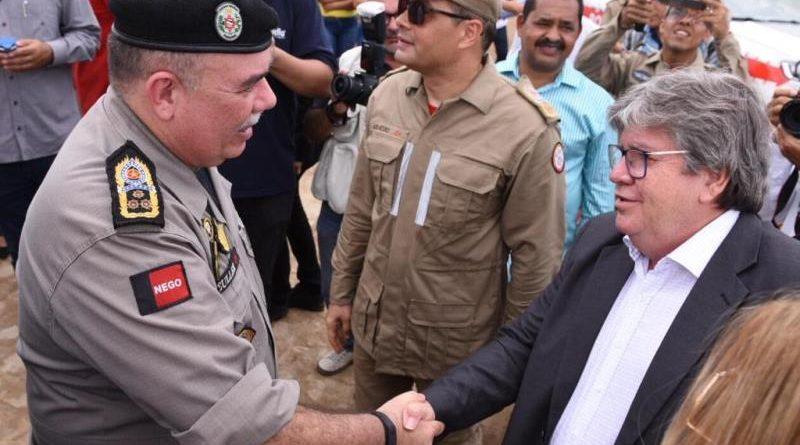 Governador João Azevêdo autoriza a promoção de mais de 200 policiais militares