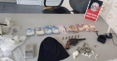 Polícia Militar apreende material do tráfico de drogas em obras de casas no Sertão da Paraíba