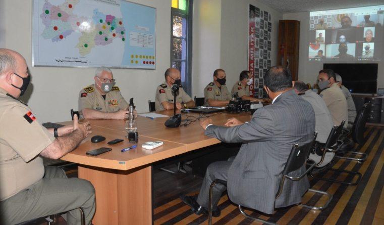 reuniao-761x445 Reunião define últimos ajustes para esquema de policiamento durante as Eleições 2020