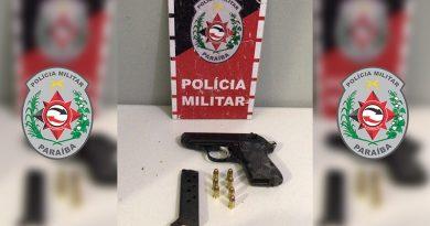 Polícia Militar reforça atuação em Santa Rita e apreende arma usada em tiroteio