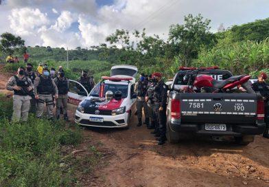 PM frustra fuga de suspeitos de assaltar casa lotérica e recupera dinheiro roubado em Pirpirituba