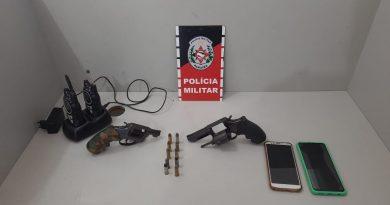 Polícia Militar apreende armas de fogo, munições e radiocomunicadores no litoral norte