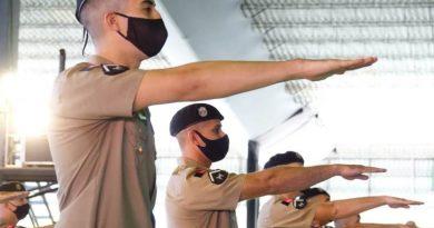 Governador João Azevêdo prestigia solenidade de formatura de soldados da Polícia Militar e do Corpo de Bombeiros em Campina Grande