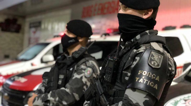Polícia Militar prende casal suspeitos de latrocínio em Teixeira