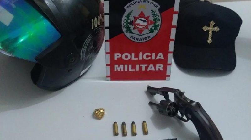 Polícia Militar apreende quatro armas de fogo em Sousa