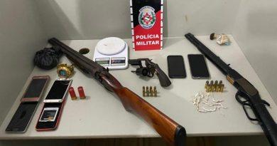 Polícia Militar desarticula grupos criminosos, apreende três armas de fogo e prende seis suspeitos no litoral norte